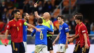 Русский судья выгнал с поля легенду итальянского футбола. Карасев не постеснялся удалить Бонуччи