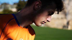 В17 лет Карпов— надежда ЦСКА взащите. Аведь онначинал в«Зените», побывал вратарем иотмечал голы как Аршавин