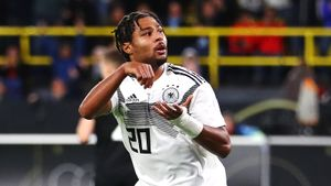 Гнабри круче Клозе: забил свои первые 10 голов за Германию в 11 матчах. Россия ему тоже помогла