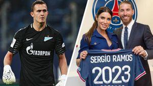 Легенда «Реала» Рамос перешел в «ПСЖ», экс-вратарь «Зенита» Лунев уедет в Германию. Трансферы и слухи дня