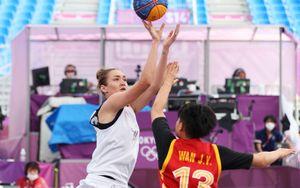 Сборная России разгромила Китай на групповом этапе по баскетболу 3х3 на Играх в Токио