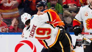 «Он— сопляк иссыкло». Самая ненавидящая друг друга парочка НХЛ снова устроила побоище