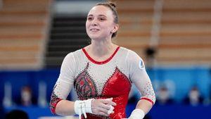 Гимнастка Ильянкова— серебряный призер Олимпиады в разновысоких брусьях