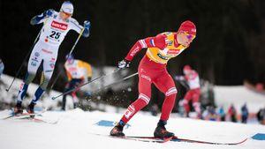 Большунов — второй в первой гонке нового года: он выжал из себя максимум в спринте. В финале было трое русских
