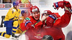 Русских били влицо иукладывали налед, они вответ целовали герб страны. Фото полуфинала МЧМ