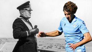 Правнук диктатора, племянник Софи Лорен. Молодой футболист Муссолини перешел в «Лацио» — любимый клуб фашистов