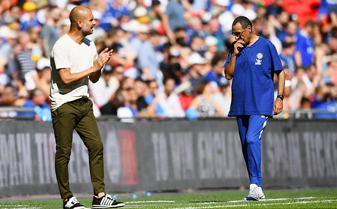 «Манчестер Сити» в пятый раз завоевал Суперкубок Британии иобошел «Челси»