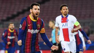 Месси повторил рекорд Рауля: аргентинец забивает в Лиге чемпионов 17-й год подряд