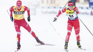 Большунов защищает лидерство, Ступак рвется в тройку. Четвертый этап «Тур де Ски». Live
