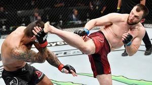 Российский боец Салихов выиграл 4-й бой в UFC. В Китае его назвали «телохранителем Путина»