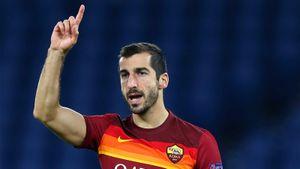 Мхитарян получил травму в матче «Рома» — «Шахтер» и был заменен в первом тайме