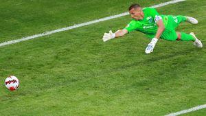 Кержаков признан лучшим игроком матча «Химки»— «Зенит»