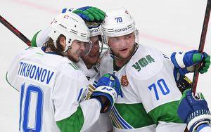 «Салават Юлаев» обыграл СКА в Санкт-Петербурге