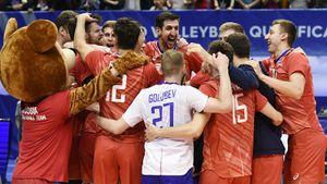 Российские волейболисты одержали 2-ю победу подряд в розыгрыше Лиги наций