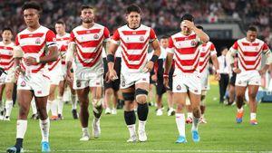 Японские регбисты надомашнем КМбольше несыграют. Французы иваллийцы устроили кровавую бойню