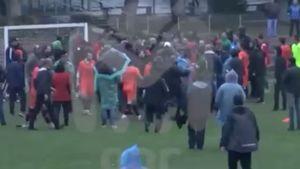 Футболисты «Ангушта» избили арбитров в матче любительского первенства. Одного из них отстранили на 2 года