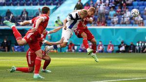 Миранчук забил, Марио травмировался, а Соболеву сломали нос. Как Россия обыграла финнов на Евро