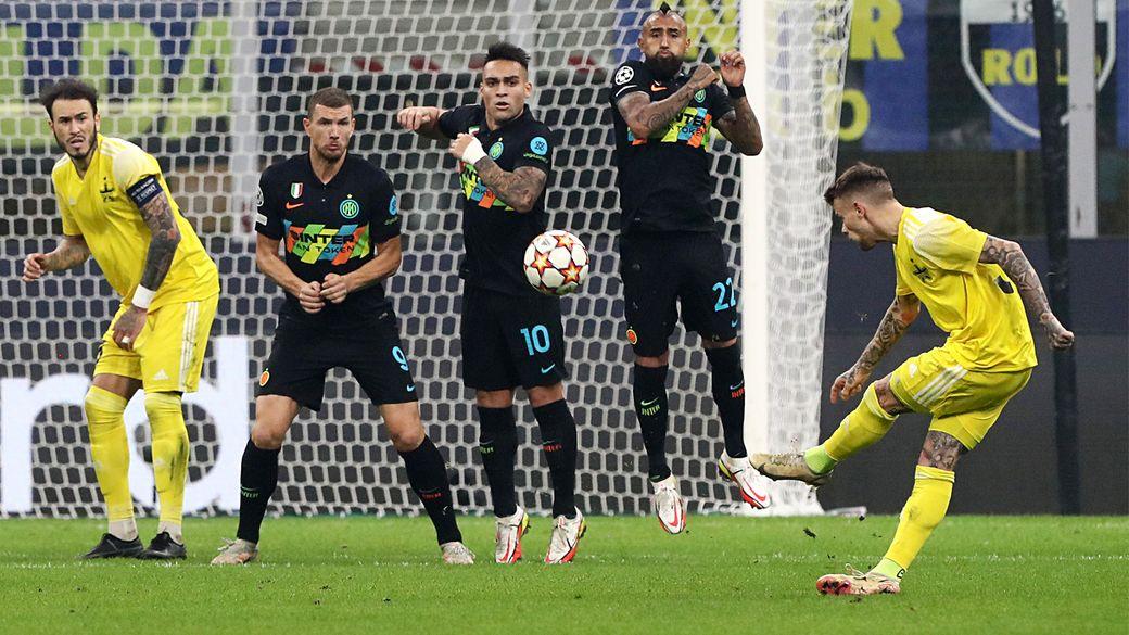 Футболист Шерифа Тилль забил шикарный гол Интеру со штрафного в Лиге чемпионов: видео