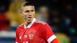 Соболев: «Подстригусь, как Роналдо в 2002-м, если сборная России выйдет в полуфинал чемпионата Европы»