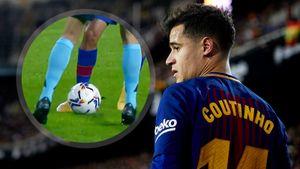 «Коутиньо смог бы прокинуть мяч между ног и русалке». Игрок «Барселоны» эффектно обыграл вставшего на пути арбитра