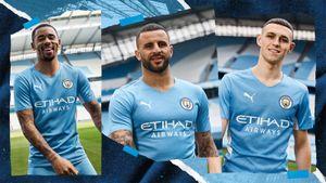 «Манчестер Сити» представил новую домашнюю форму. На ней есть отсылка к чемпионскому голу Агуэро