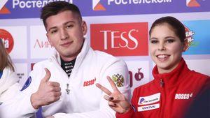 Мишина/Галлямов победили в соревнованиях пар в финале Кубка России