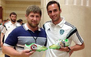 Маурисио: «Кадыров подарил бутсы с бриллиантами. Храню в сейфе, чтобы не украли»