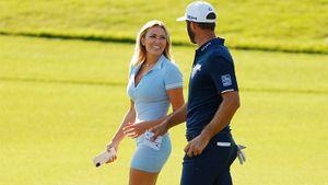 Дочка Гретцки расцеловала жениха-гольфиста прямо на поле: видео. Он выиграл $15 млн
