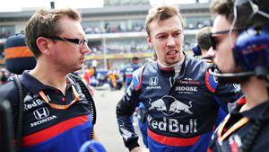 Квят испортил себе Гран-при ошибкой на последнем круге. Но обвинил во всем судей