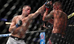 Диас три года сидел без боев, но ярко вернулся. Он подрался в UFC впервые после поражения от Конора