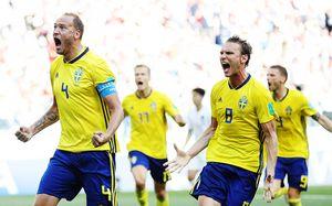 Самый скучный матч ЧМ закончился победой шведов. Их вытащили парни из «Краснодара»