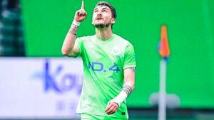 Нападающий «Динамо» Филипп хочет остаться в «Вольфсбурге»