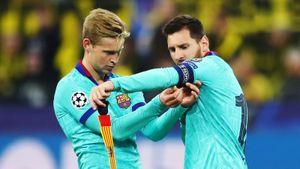 Де Йонг: «В «Барселоне» царит хаос. Если Месси уйдет, это будет огромным ударом для клуба»
