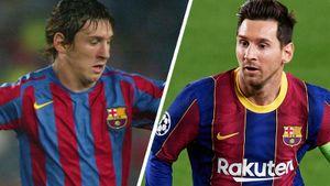 Как выглядели нынешние звезды «Барселоны» и «Реала» 15 лет назад. Тогда Месси дебютировал в эль-класико