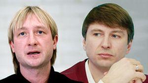 Ягудин иПлющенко заговорили оперемирии. Ихконфликту больше 20 лет