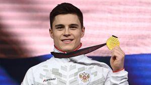 Гимнаст Нагорный стал восьмикратным чемпионом Европы