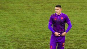 Футболист «Уфы» Неделчару отказался уходить на замену во время матча с «Рубином»: видео