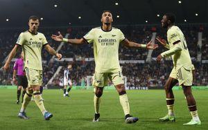«Арсенал» забил шесть безответных мячей «Вест Бромвичу» в Кубке английской лиги