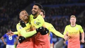 Жезус принес «Манчестер Сити» победу над «Лестером», забив через 3 минуты после выхода назамену