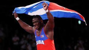 На Олимпиаде в Токио был побит легендарный рекорд русского борца Карелина. Теперь кубинец Лопес официально круче