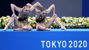 Синхронистки Колесниченко и Ромашина показали лучший результат в квалификации, несмотря на проблемы с музыкой