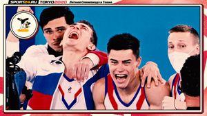 25 лет спустя русские гимнасты вернули золото Олимпиады в команде. Нагорный не дрогнул после шикарной оценки Японии