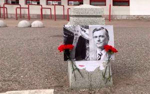 Фанаты «Локомотива» сымитировали похороны Мещерякова и Кикнадзе после расставания с Семиным