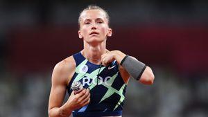 Шестовичка Сидорова стала второй на своей дебютной Олимпиаде. Россиянка проиграла в финале самой себе, не взяв 4,90