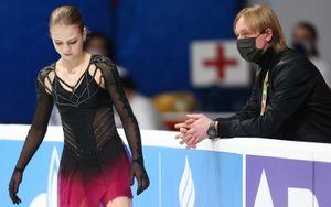 Трусова: «Пока ничего не собираюсь менять. В олимпийский сезон остаюсь у Плющенко»