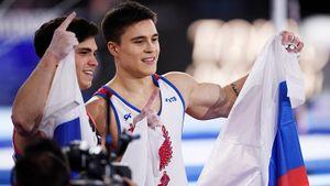 Никита Нагорный отнял титул абсолютного чемпиона мира у Артура Далалояна. Русские гимнасты — космос!