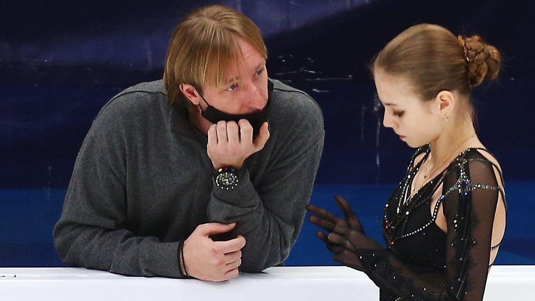 Плющенко - Трусовой: Уверен, твоя мечта сделать 5 четверных в произвольной программе обязательно исполнится!