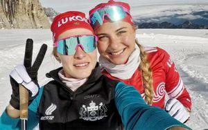Команда Сориной победила в эстафете на чемпионате России по лыжным гонкам