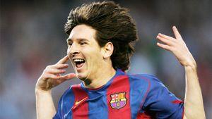 А кто-то помнит 1-й гол Месси за «Барселону»? Это было 16 с половиной лет назад!