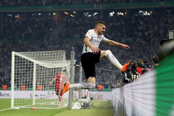 «Айнтрахт» обыграл «Баварию» истал обладателем Кубка Германии